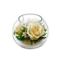 """Цветы в стекле """"Наслаждение-1"""""""