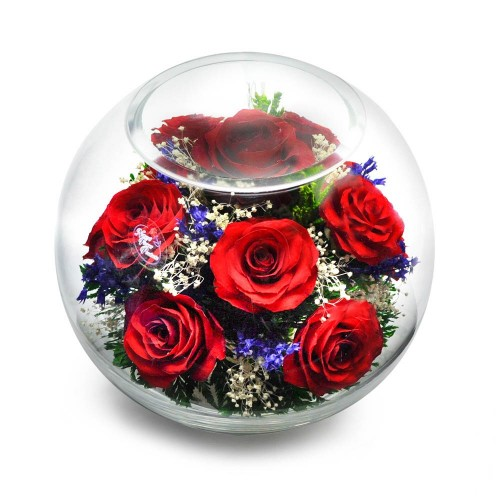 """Цветы в стекле """"Сладкая жизнь"""""""