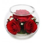"""Цветы в стекле """"Наслаждение"""""""
