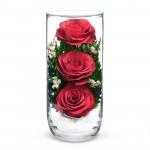 """Цветы в стекле """"Предвкушение"""""""