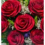 """Цветы в стекле """"История любви"""""""