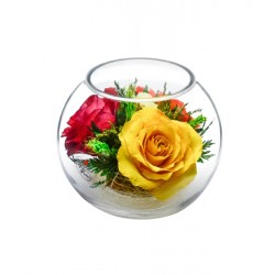 """Цветы в стекле """"Наслаждение-2"""""""