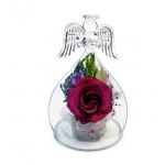 """Цветы в стекле """"Ангел-3"""""""