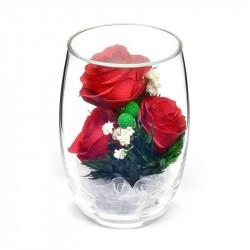 """Цветы в стекле """"Восторг"""""""