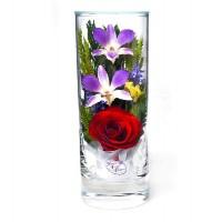 """Цветы в стекле """"Грация"""""""
