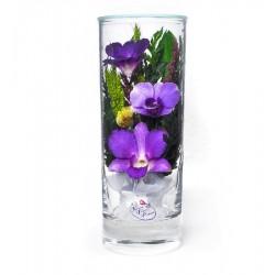 """Цветы в стекле """"Грация-2"""""""