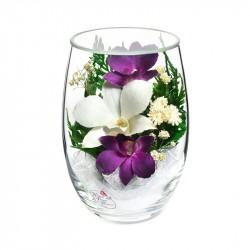 """Цветы в стекле """"Восторг-2"""""""