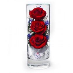 """Цветы в стекле """"Грация-3"""""""