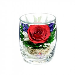 """Цветы в стекле """"Поцелуй"""""""