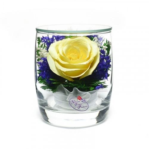 """Цветы в стекле """"Поцелуй-3"""""""