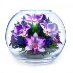 """Цветы в стекле """"Истинные чувства-2"""""""