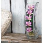 """Цветы в стекле """"Утренняя заря"""""""