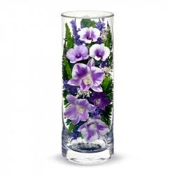 """Цветы в стекле """"В любви-2"""""""
