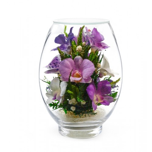 """Цветы в стекле """"Свежесть"""""""