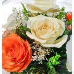 """Цветы в стекле """"Весенний аромат"""""""